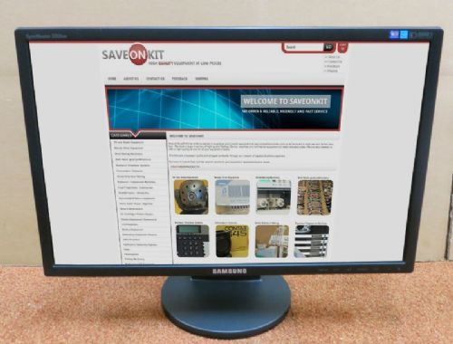 "Samsung SyncMaster 2243BW 22"" Widescreen LCD Computer Monitor Display"